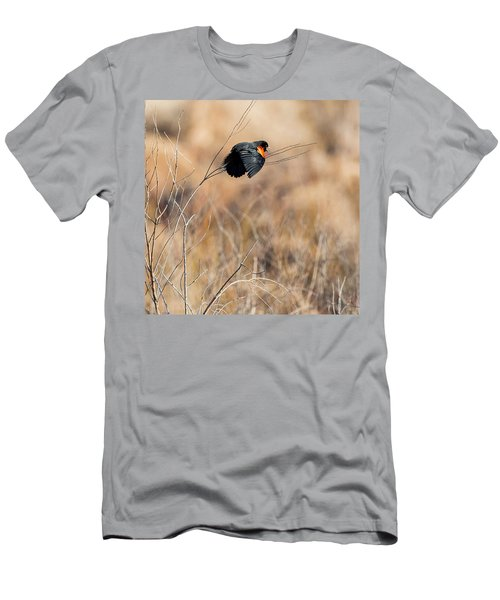 Springtime Song Square Men's T-Shirt (Slim Fit) by Bill Wakeley