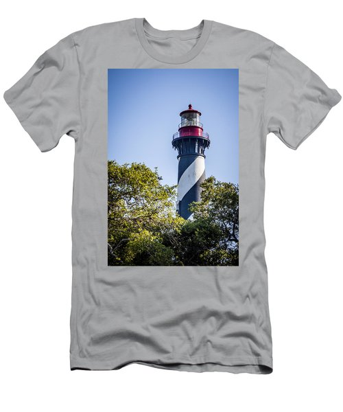 St. Augustine Lighthouse Men's T-Shirt (Athletic Fit)