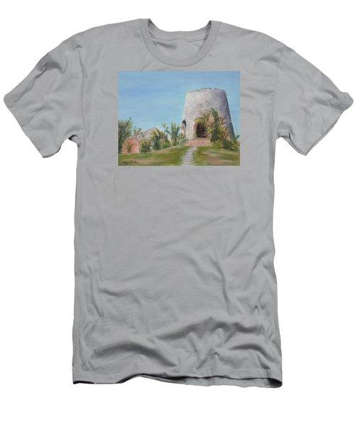 St. Croix Sugar Mill Men's T-Shirt (Athletic Fit)