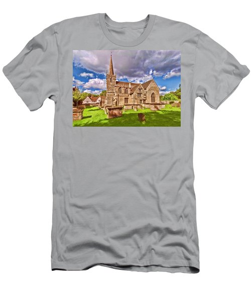 St Cyriac Church Lacock Men's T-Shirt (Athletic Fit)
