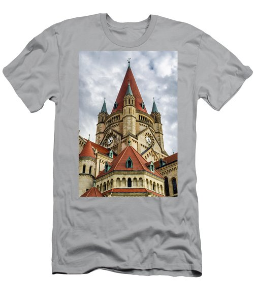 St. Francis Of Assisi Church In Vienna Men's T-Shirt (Athletic Fit)