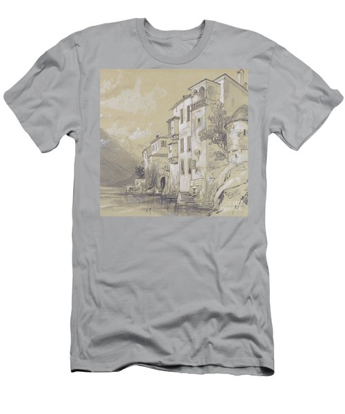 St Giulio Orta Men's T-Shirt (Athletic Fit)