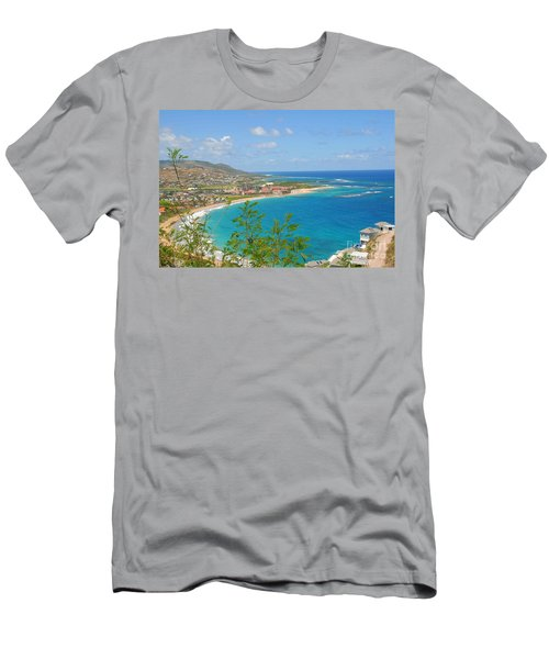 St. Kitts Men's T-Shirt (Athletic Fit)