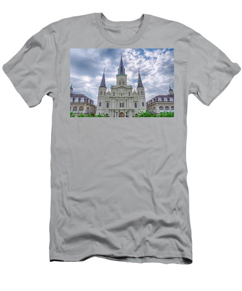 St. Louis Cathedral Men's T-Shirt (Athletic Fit)