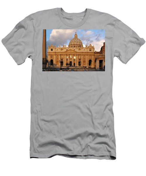 St. Peters Basilica Men's T-Shirt (Athletic Fit)