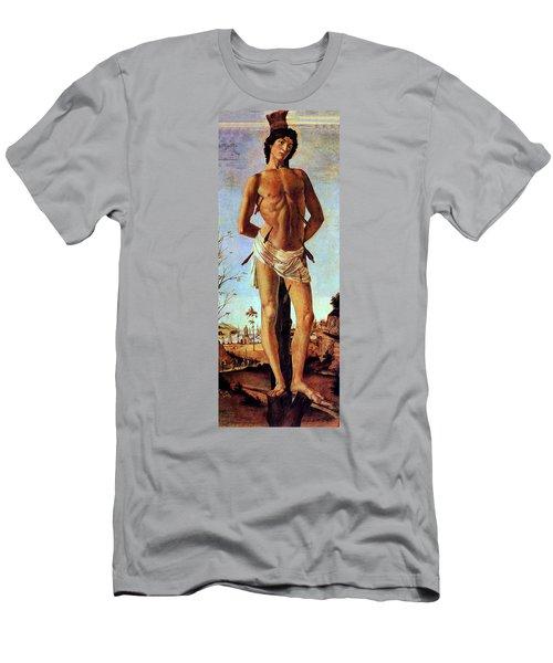 St. Sebastian Men's T-Shirt (Athletic Fit)