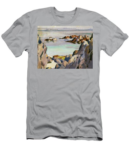Staffa And Rhum From Iona Men's T-Shirt (Athletic Fit)