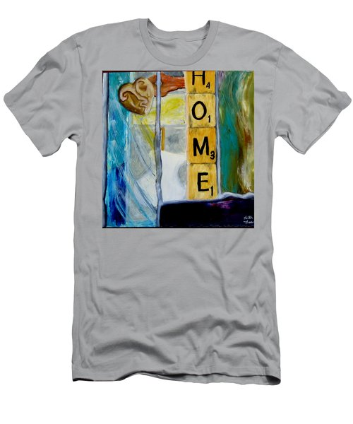 Stained Glass Home Men's T-Shirt (Athletic Fit)