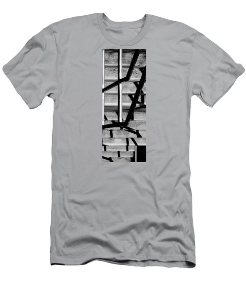 Stairs Men's T-Shirt (Slim Fit) by Caitlyn  Grasso