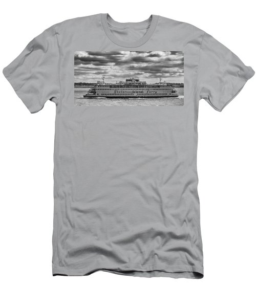 Staten Island Ferry 10484 Men's T-Shirt (Athletic Fit)