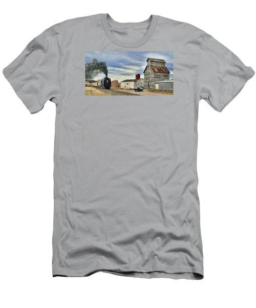 Steam In Castle Rock Men's T-Shirt (Slim Fit) by Ken Smith