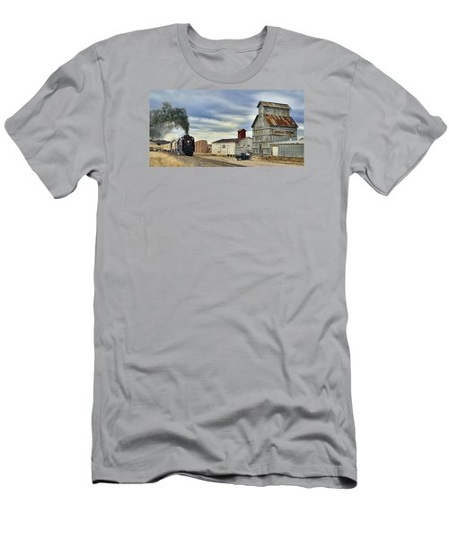 Steam In Castle Rock Men's T-Shirt (Athletic Fit)