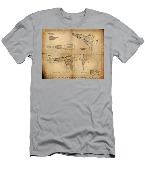 Steampunk Raygun Men's T-Shirt (Athletic Fit)