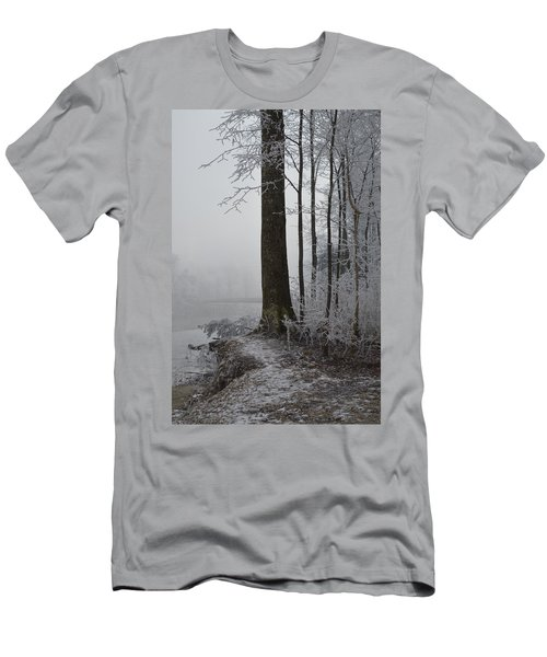 Steep And Frost Men's T-Shirt (Athletic Fit)