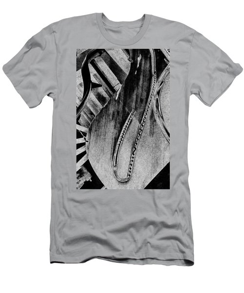 Steinway Black And White Inners Men's T-Shirt (Athletic Fit)