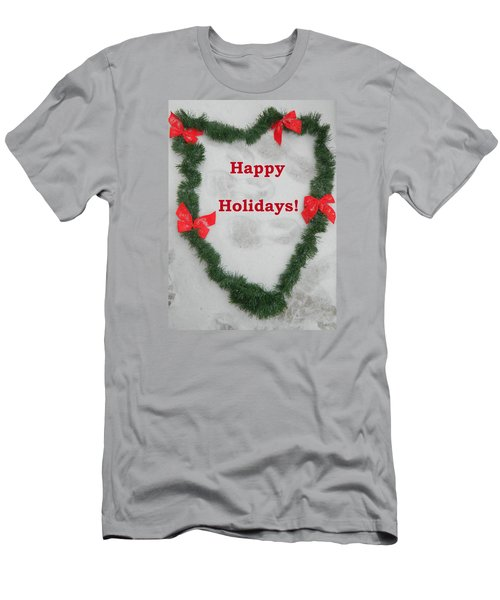 Men's T-Shirt (Slim Fit) featuring the photograph Stepping Into The Holidays by Emmy Marie Vickers