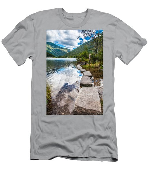 Stepping Stones Men's T-Shirt (Athletic Fit)