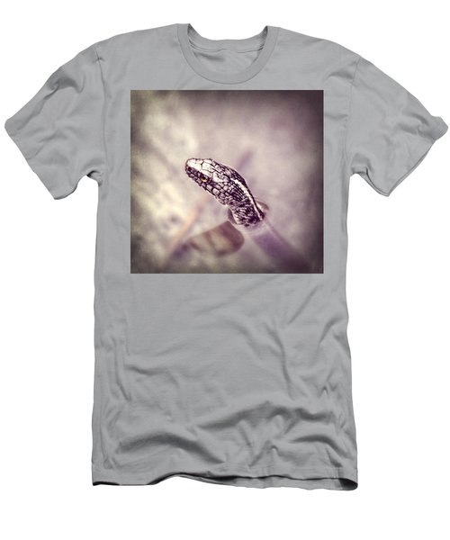 Men's T-Shirt (Slim Fit) featuring the photograph Stony Stare by Melanie Lankford Photography