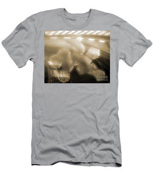 Stood A Man On The Corner. Men's T-Shirt (Athletic Fit)