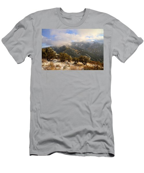 Storm Atop Oquirrhs Men's T-Shirt (Athletic Fit)