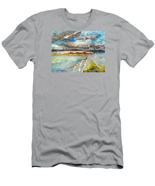 Storm Coming At Austinmer Beach Men's T-Shirt (Athletic Fit)