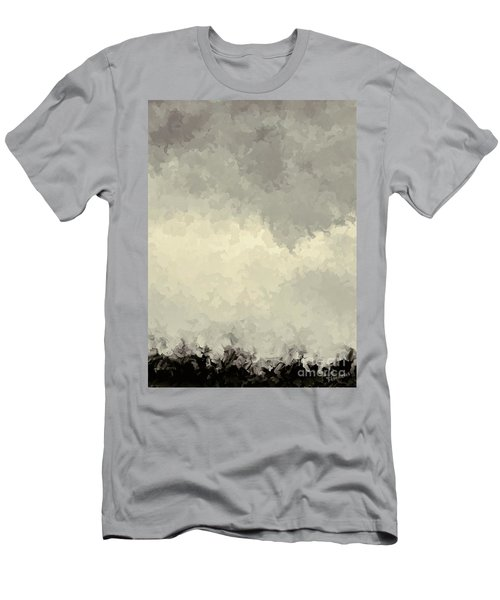 Storm Over A Cornfield Men's T-Shirt (Athletic Fit)