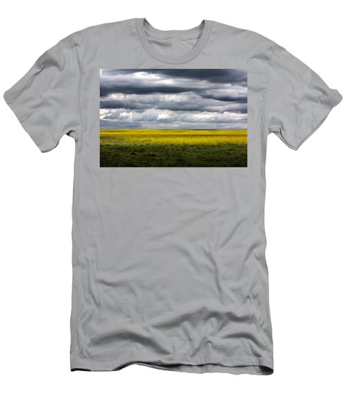 Stormy Plains Men's T-Shirt (Athletic Fit)