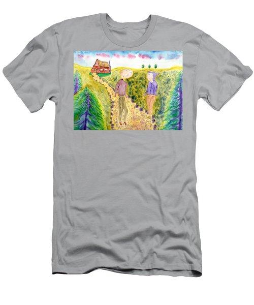 Cabin Trail Men's T-Shirt (Athletic Fit)
