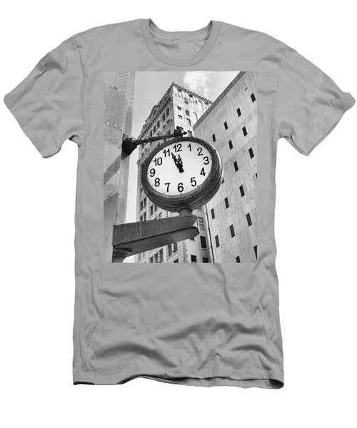 Street Clock Men's T-Shirt (Athletic Fit)