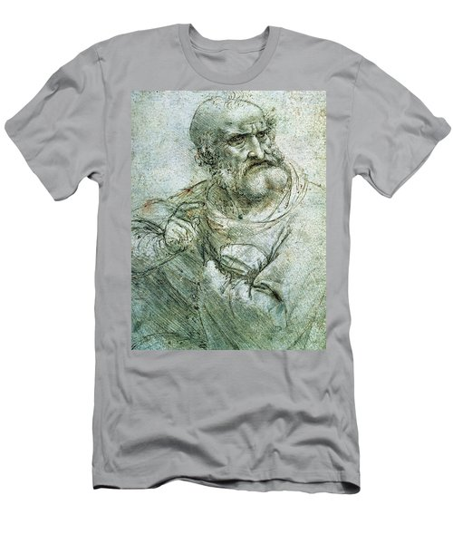 Study For An Apostle From The Last Supper Men's T-Shirt (Athletic Fit)
