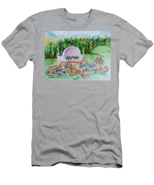Summer Concert In The Park Men's T-Shirt (Athletic Fit)