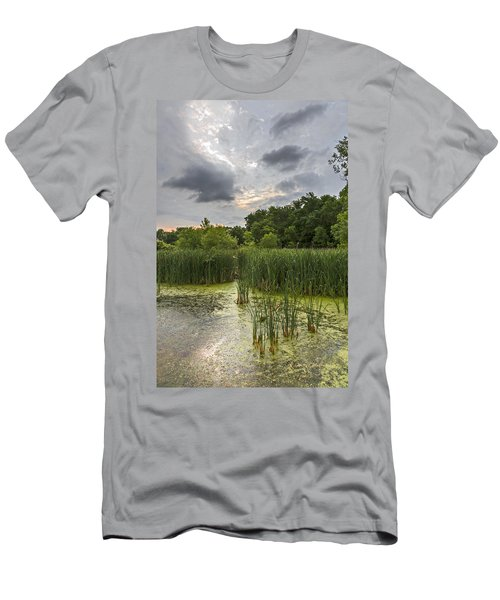 Summer Evening Clouds Men's T-Shirt (Athletic Fit)