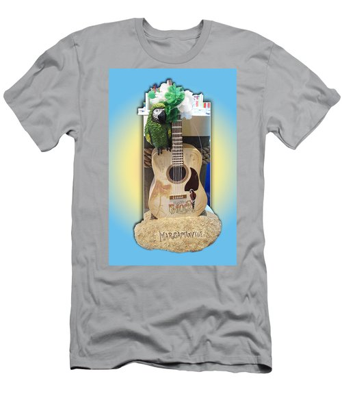 Men's T-Shirt (Slim Fit) featuring the photograph Summer Guitar by Barbara McDevitt