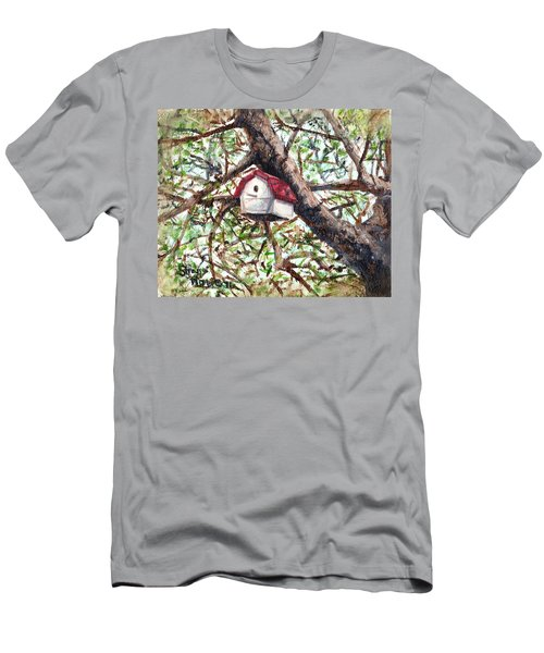 Men's T-Shirt (Slim Fit) featuring the painting Summer Home by Shana Rowe Jackson