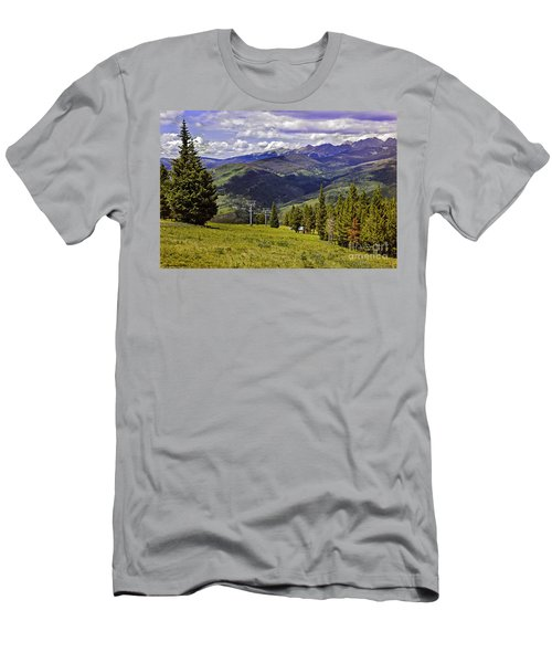 Summer Lifts - Vail Men's T-Shirt (Athletic Fit)