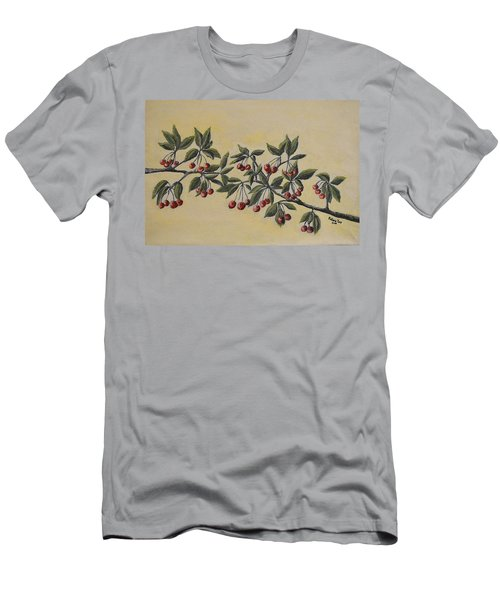 Summer Stay... Men's T-Shirt (Slim Fit) by Felicia Tica
