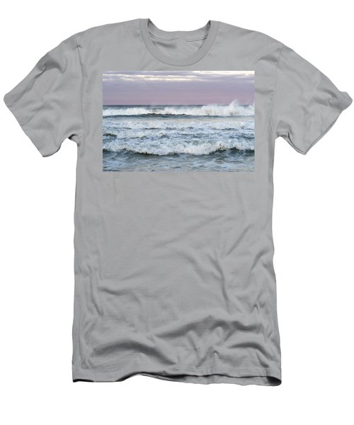 Summer Waves Seaside New Jersey Men's T-Shirt (Athletic Fit)