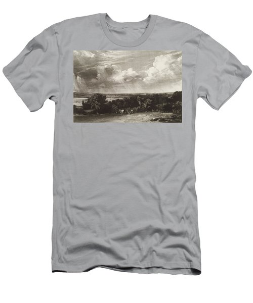 Summerland, Engraved By David Lucas 1802-81 Mezzotint Men's T-Shirt (Athletic Fit)