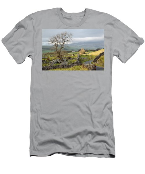 Sun Breaks Through Men's T-Shirt (Athletic Fit)