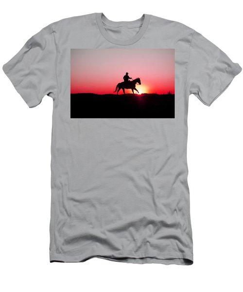 Sun Dancer Men's T-Shirt (Slim Fit) by Steven Bateson