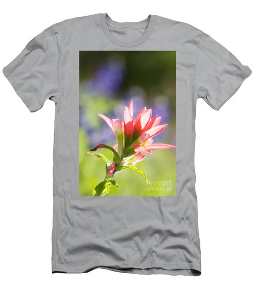Sun Filled Paintbrush Men's T-Shirt (Slim Fit) by Erika Weber