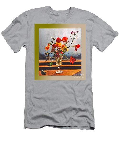 Sun Lite Nasturtium Flowers And Company Men's T-Shirt (Athletic Fit)