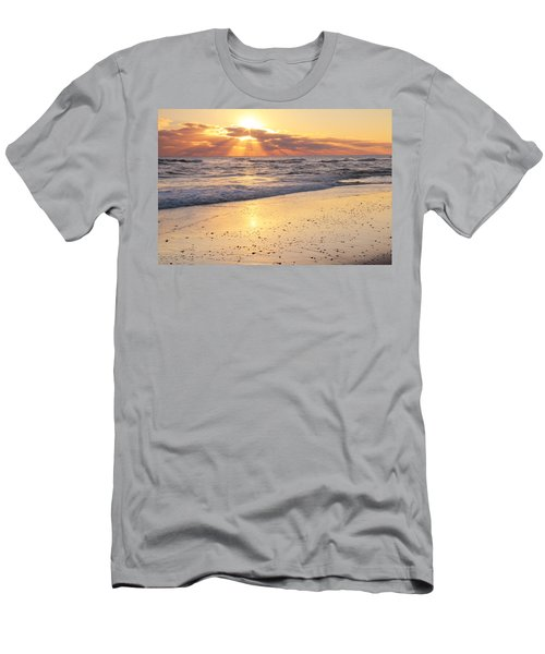 Sunbeams On The Beach Men's T-Shirt (Athletic Fit)