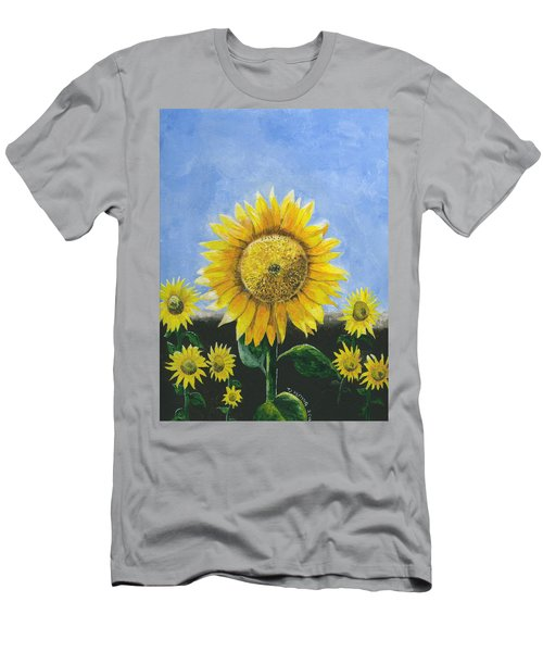 Sunflower Series One Men's T-Shirt (Athletic Fit)