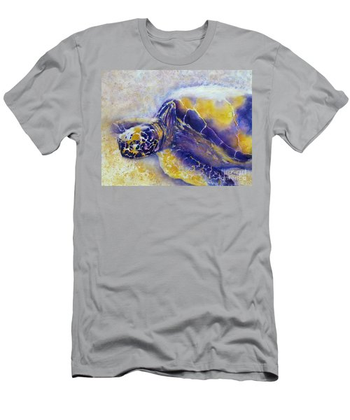 Sunning Turtle Men's T-Shirt (Athletic Fit)