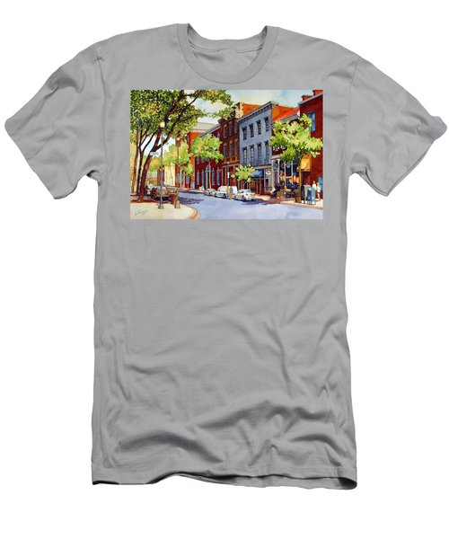 Sunny Day Cafe Men's T-Shirt (Athletic Fit)