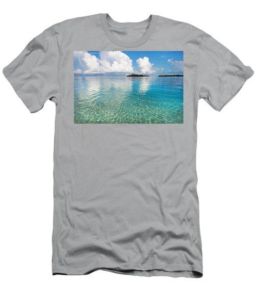 Sunny Invitation For  You. Maldives Men's T-Shirt (Slim Fit) by Jenny Rainbow