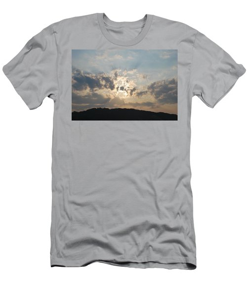 Men's T-Shirt (Slim Fit) featuring the photograph Sunrise 1 by George Katechis