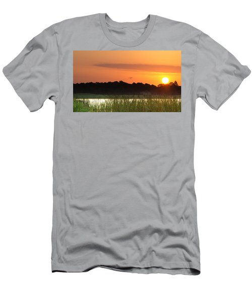 Sunrise At Lakewood Ranch Florida Men's T-Shirt (Athletic Fit)