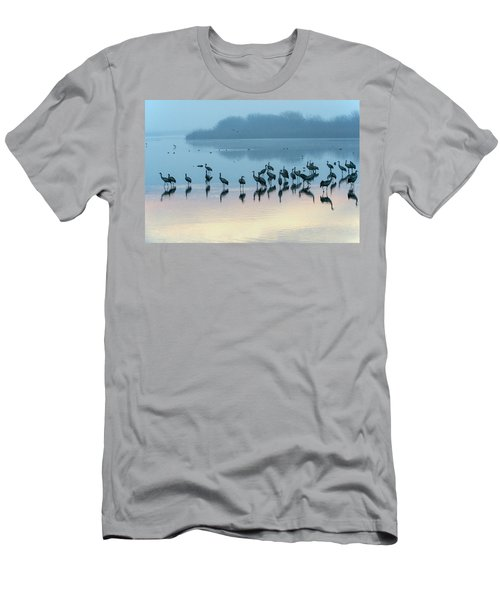 Sunrise Over The Hula Valley Israel 5 Men's T-Shirt (Athletic Fit)